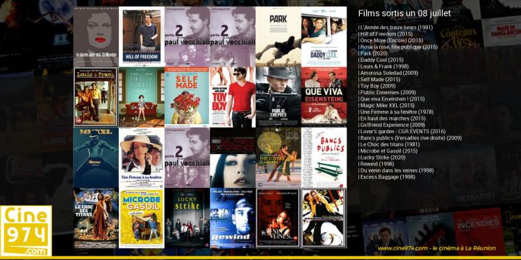 Films sortis un 08 juillet