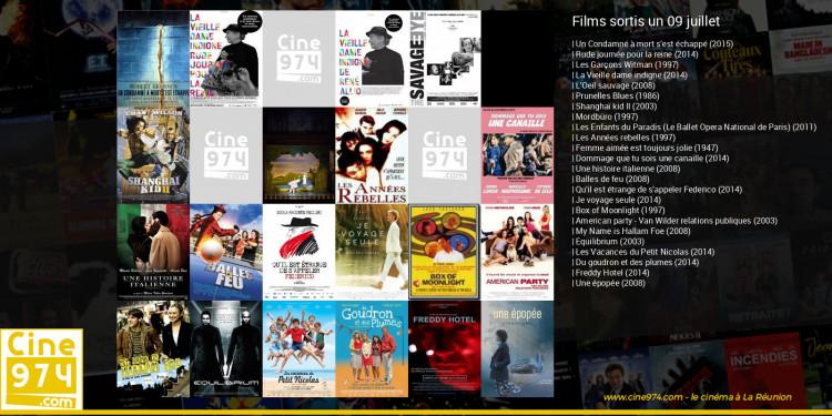 Films sortis un 09 juillet