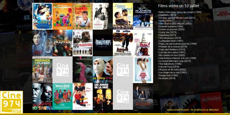 Films sortis un 10 juillet