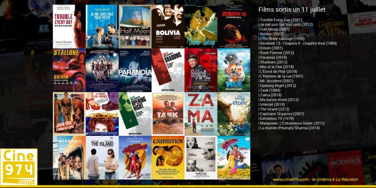 Films sortis un 11 juillet