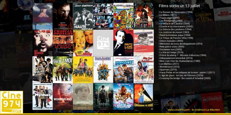 Films sortis un 13 juillet
