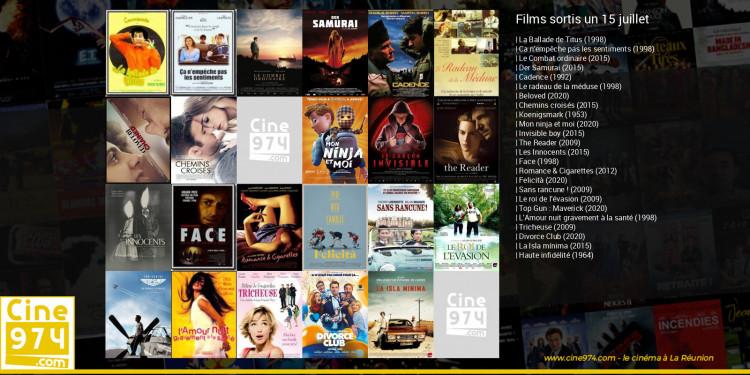 Films sortis un 15 juillet