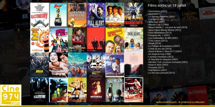 Films sortis un 18 juillet