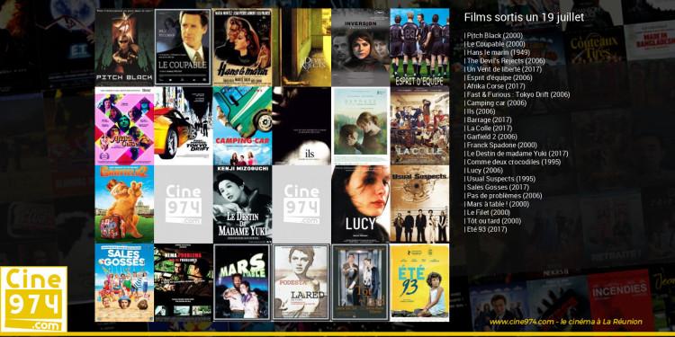 Films sortis un 19 juillet