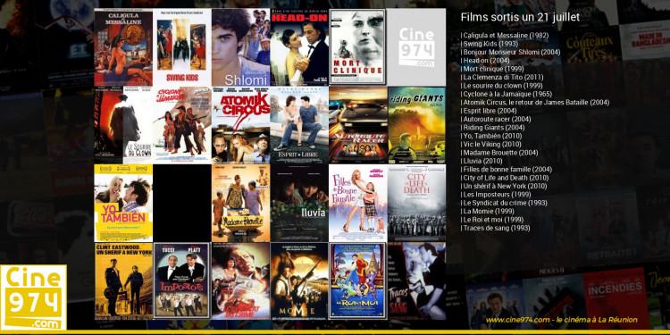 Films sortis un 21 juillet