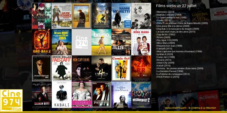 Films sortis un 22 juillet