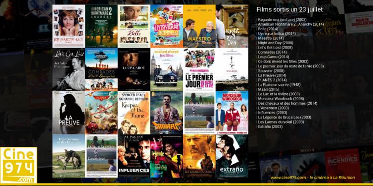 Films sortis un 23 juillet