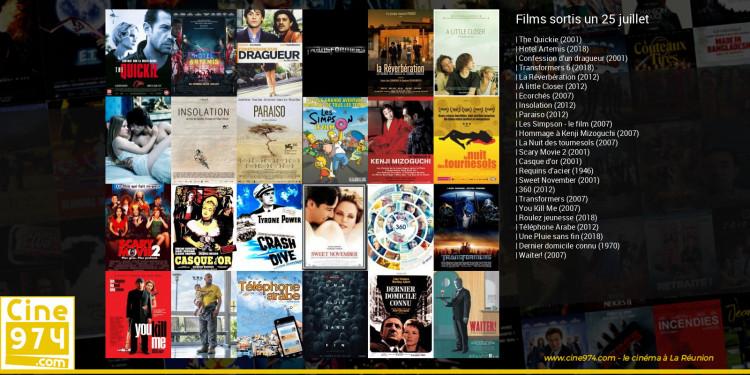 Films sortis un 25 juillet