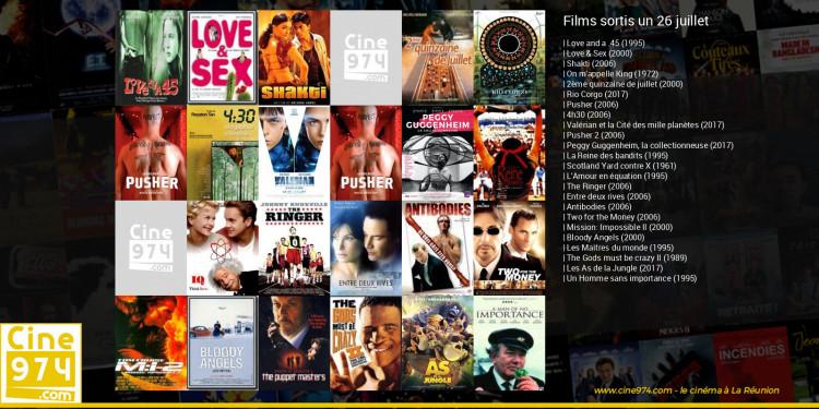 Films sortis un 26 juillet