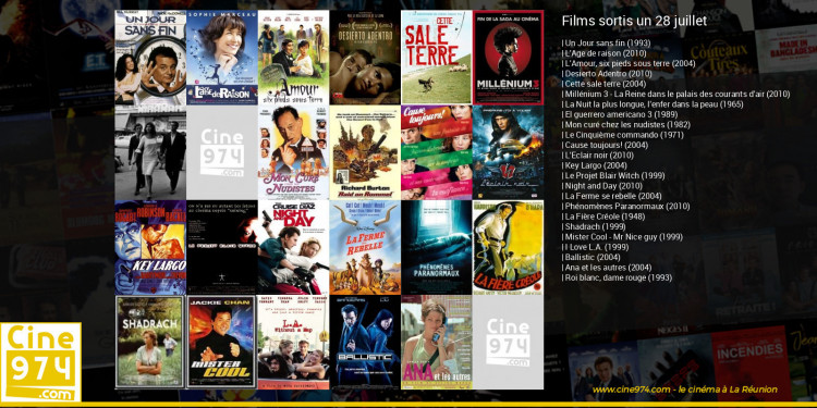 Films sortis un 28 juillet