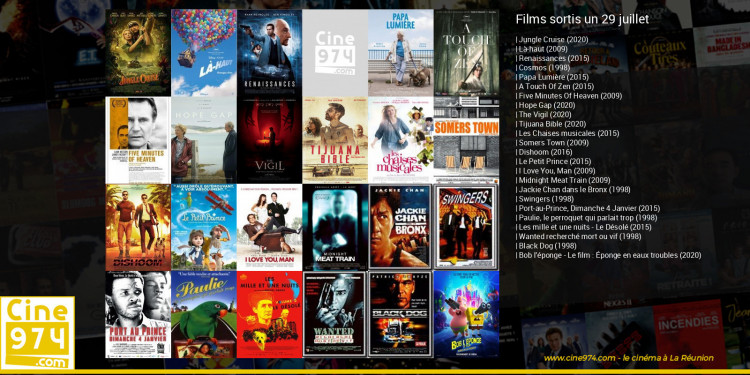 Films sortis un 29 juillet