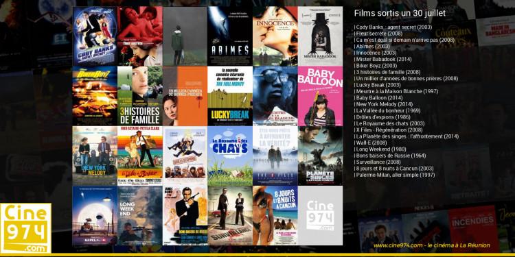 Films sortis un 30 juillet