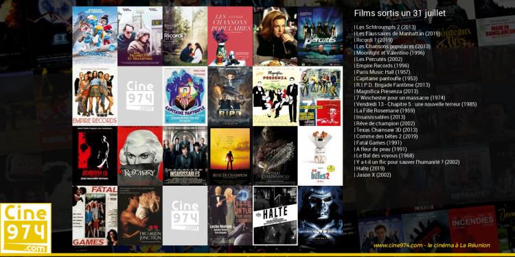 Films sortis un 31 juillet