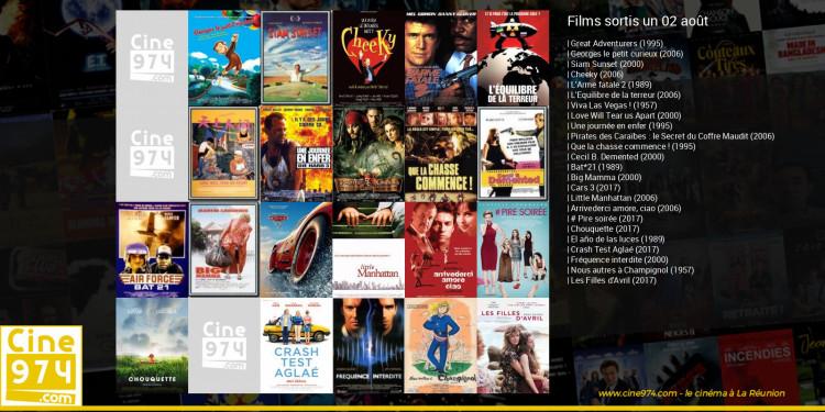 Films sortis un 02 août