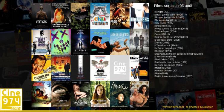 Films sortis un 03 août