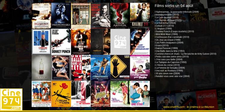 Films sortis un 04 août