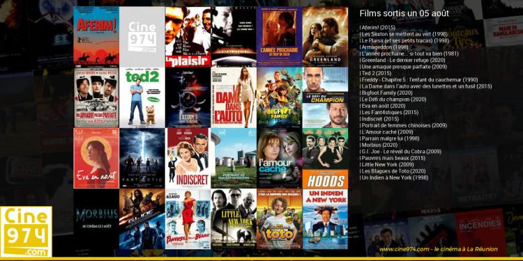 Films sortis un 05 août