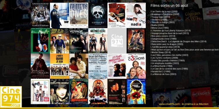 Films sortis un 06 août