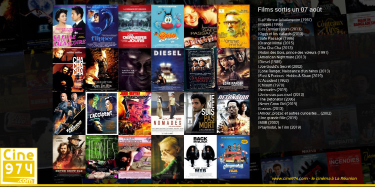 Films sortis un 07 août
