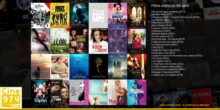 Films sortis un 08 août