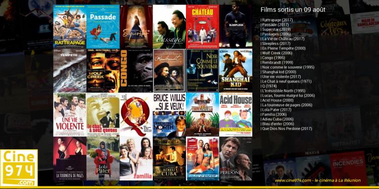 Films sortis un 09 août