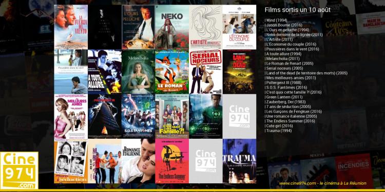Films sortis un 10 août