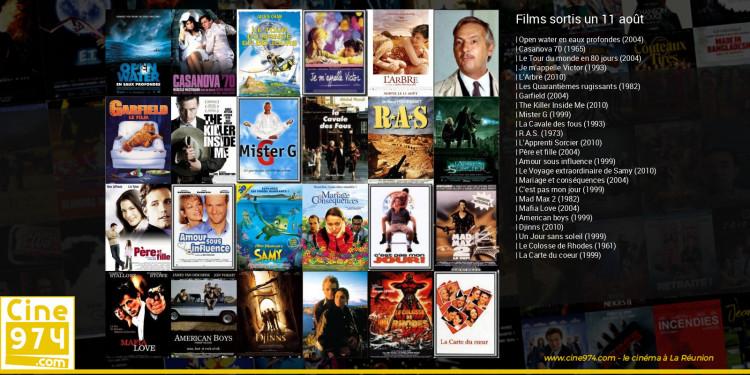 Films sortis un 11 août