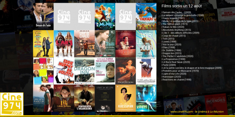 Films sortis un 12 août