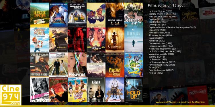 Films sortis un 15 août