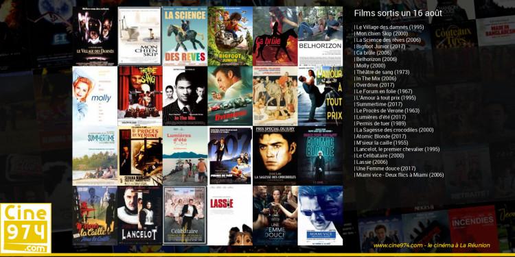 Films sortis un 16 août