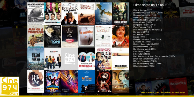 Films sortis un 17 août