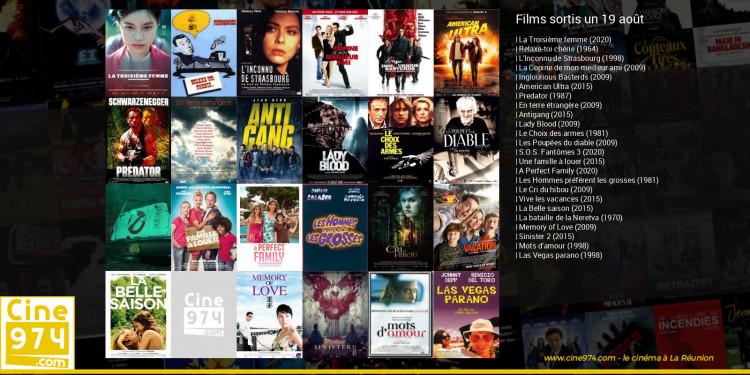 Films sortis un 19 août