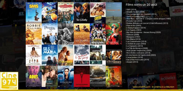 Films sortis un 20 août