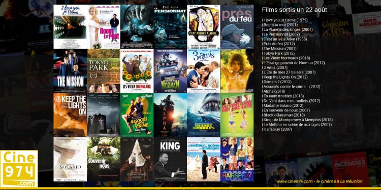 Films sortis un 22 août
