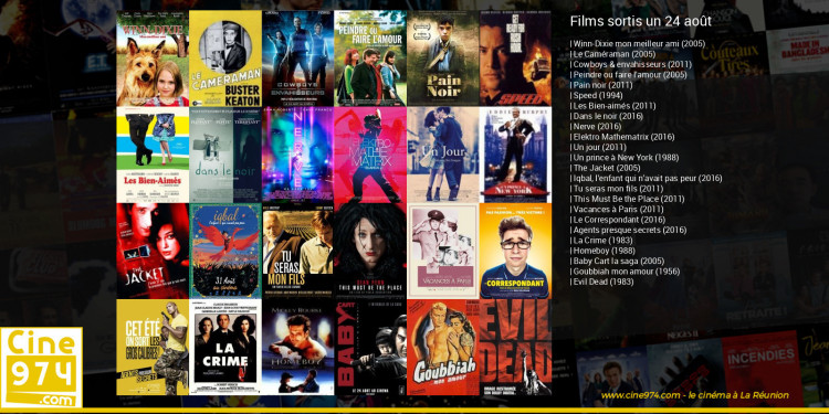 Films sortis un 24 août