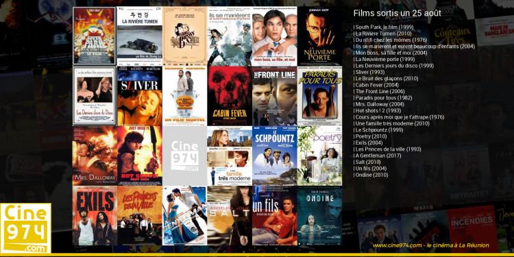 Films sortis un 25 août