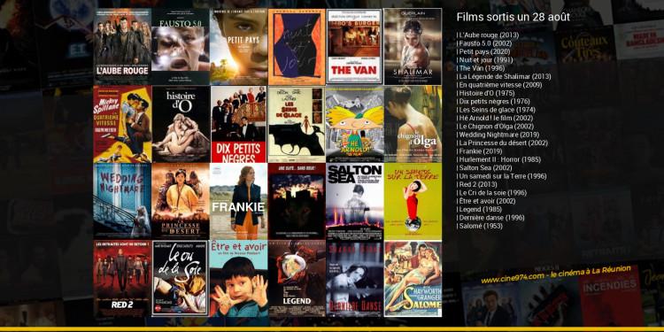 Films sortis un 28 août