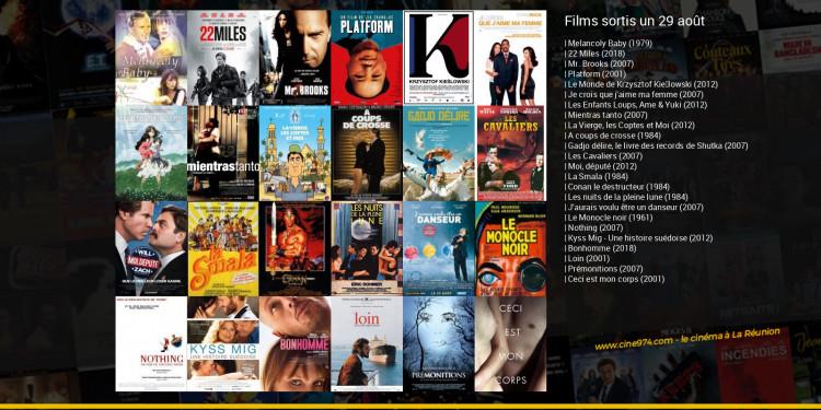 Films sortis un 29 août