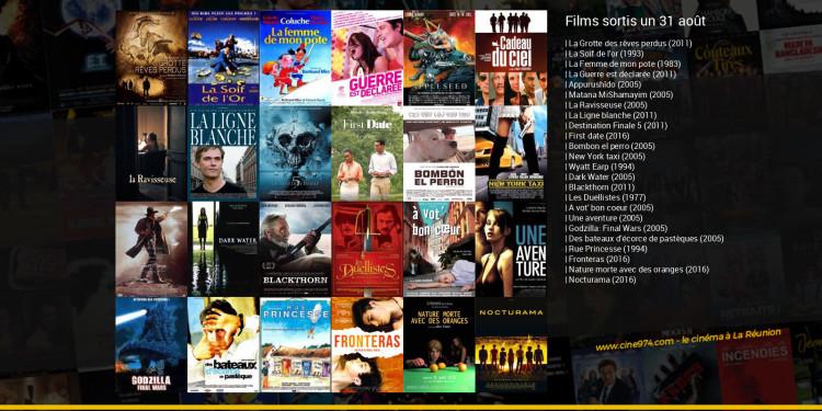 Films sortis un 31 août