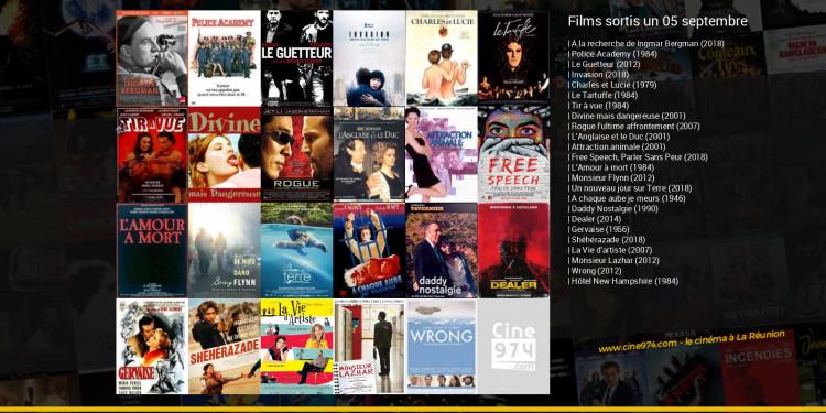 Films sortis un 05 septembre