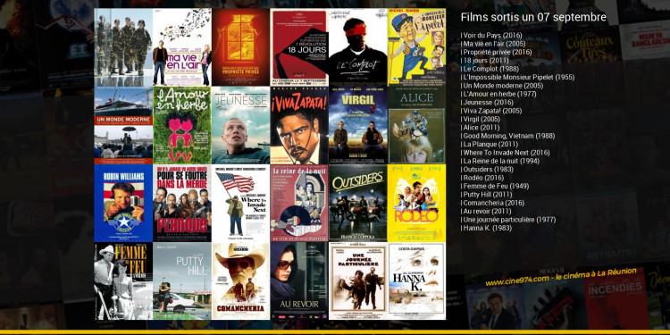 Films sortis un 07 septembre
