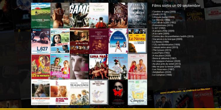 Films sortis un 09 septembre