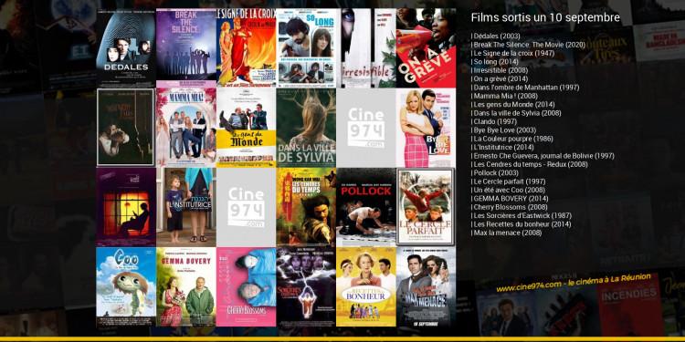 Films sortis un 10 septembre