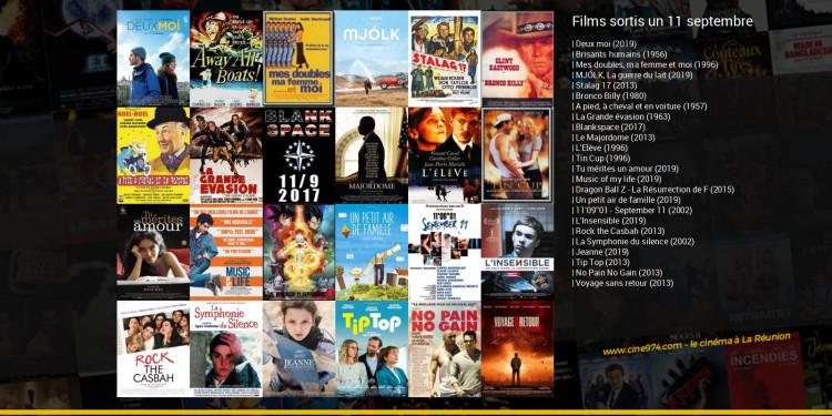 Films sortis un 11 septembre