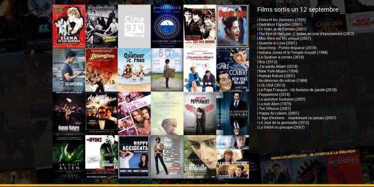 Films sortis un 12 septembre