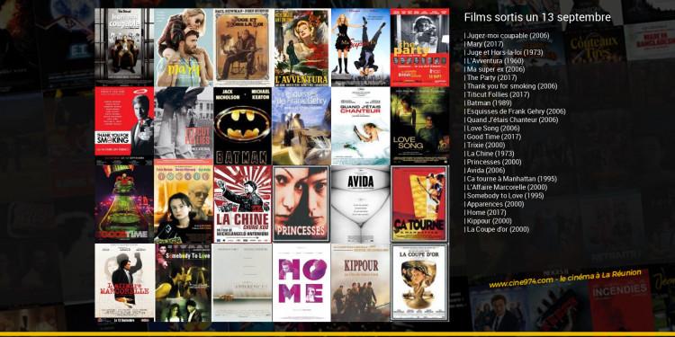 Films sortis un 13 septembre