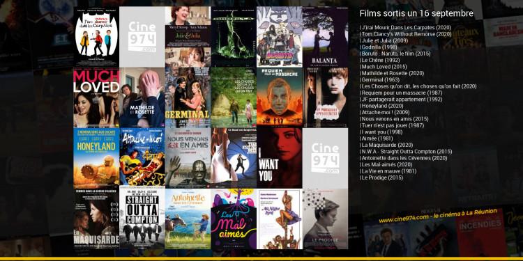 Films sortis un 16 septembre