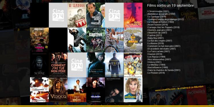 Films sortis un 19 septembre
