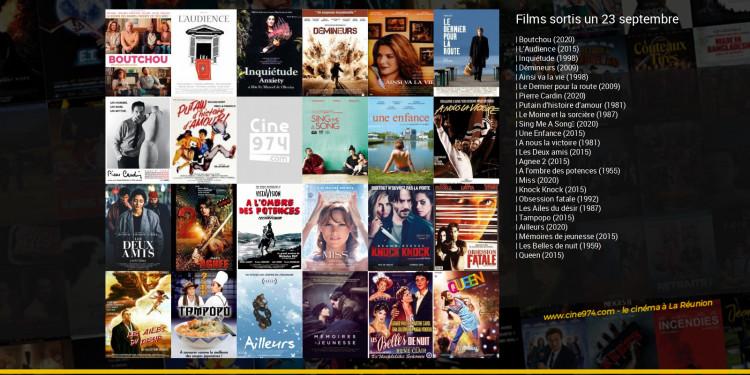 Films sortis un 23 septembre