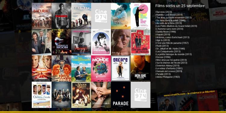 Films sortis un 25 septembre